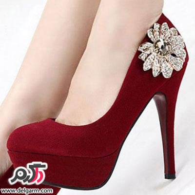 کفش مجلسی با رنگ بندی زیبا