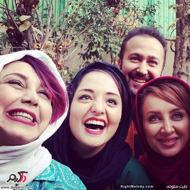 عکس از اینستاگرام نرگس محمدی