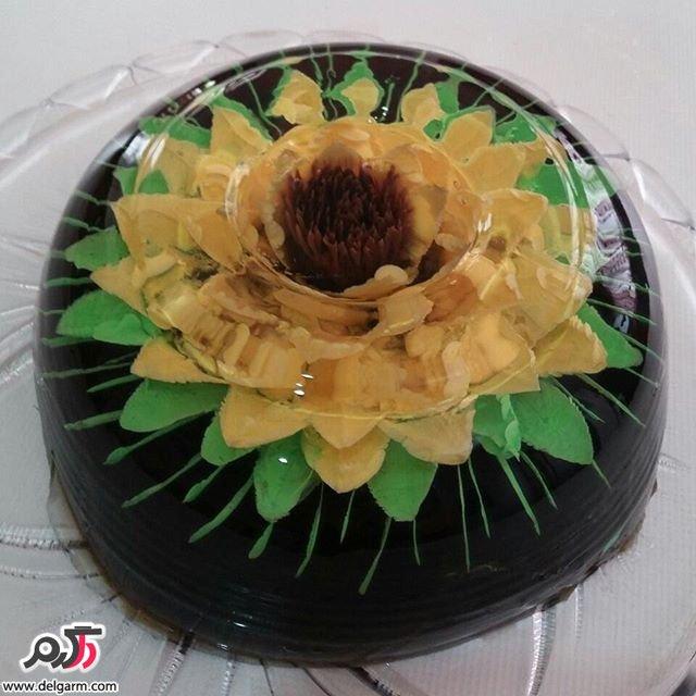 مدل جدید ژله تزریقی با گل های زیبا و رنگ های متنوع