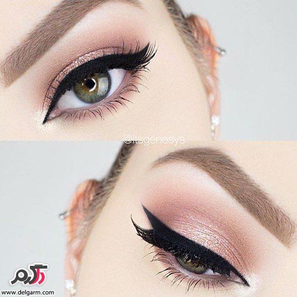 زیباترین و جدیدترین آرایش چشم