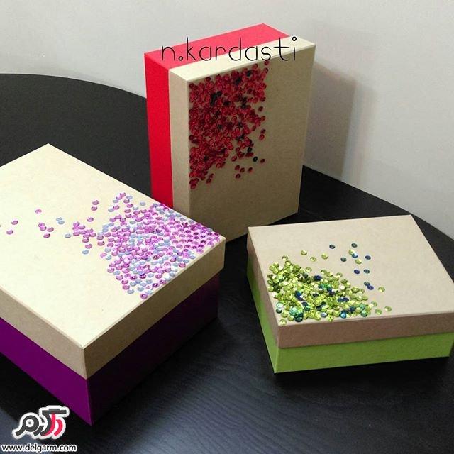 جدیدترین طرح های جعبه کادویی