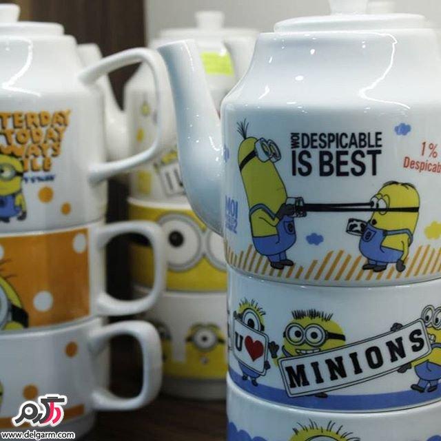 لیوان های جالب با طرح های متنوع و زیبا