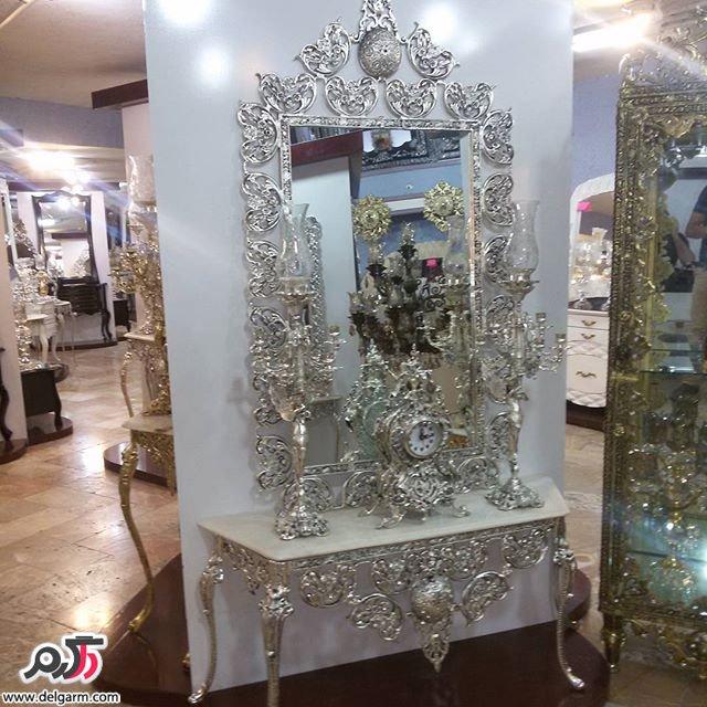 آینه شمعدان های زیبا