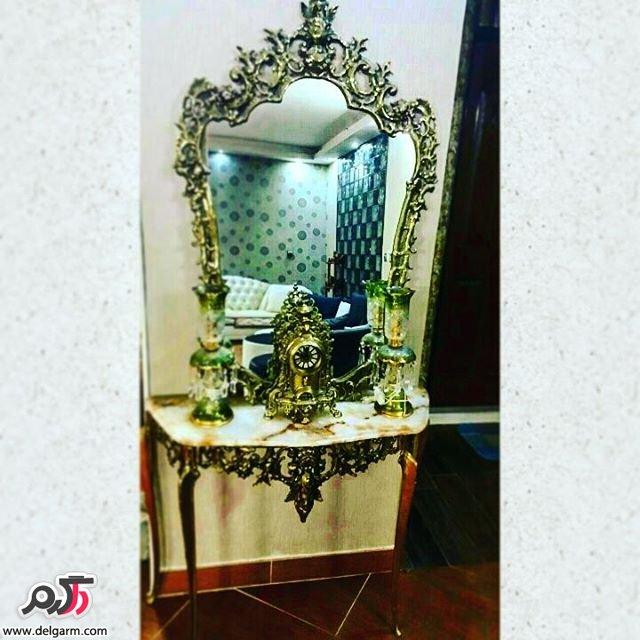 آینه شمعدان بسیار زیبا جدید 2016