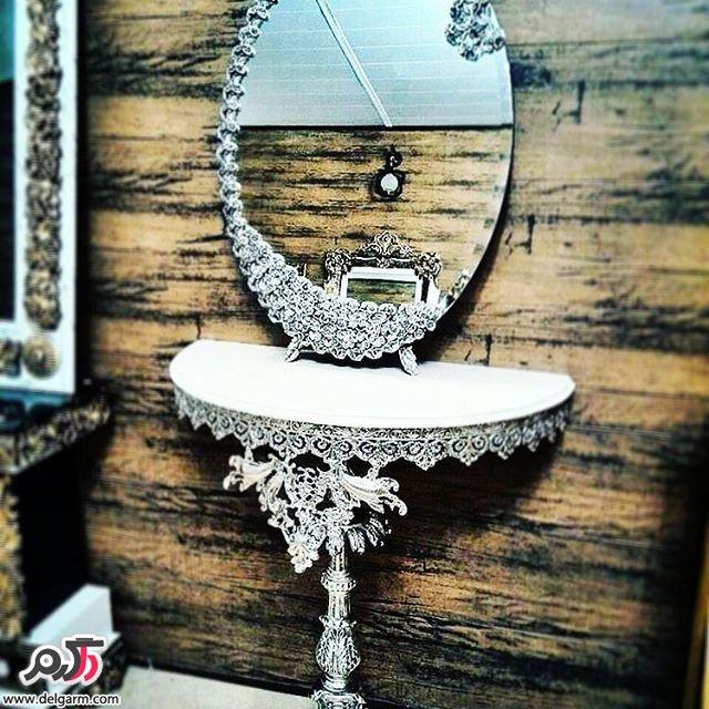 زیباترین مدل های آینه شمعدان برای عروس و داماد های ایرانی