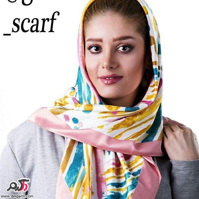 طرح هایی زیبا از شال و روسری شهریور 1395