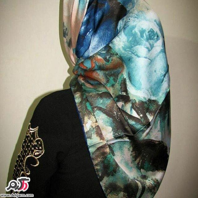 عکس از شال و روسری