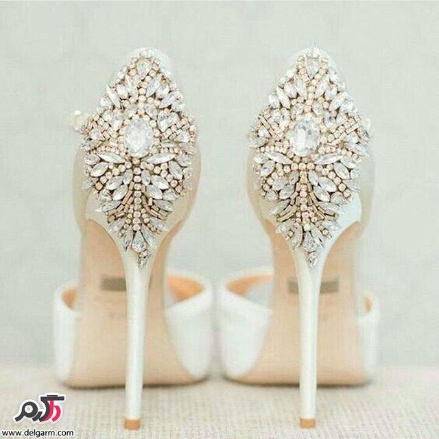 کفش عروس در طرح های زیبا و جدید1395