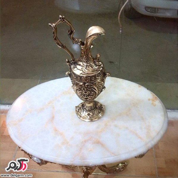 جدیدترین ظروف و مجسمه های برنجی 1395