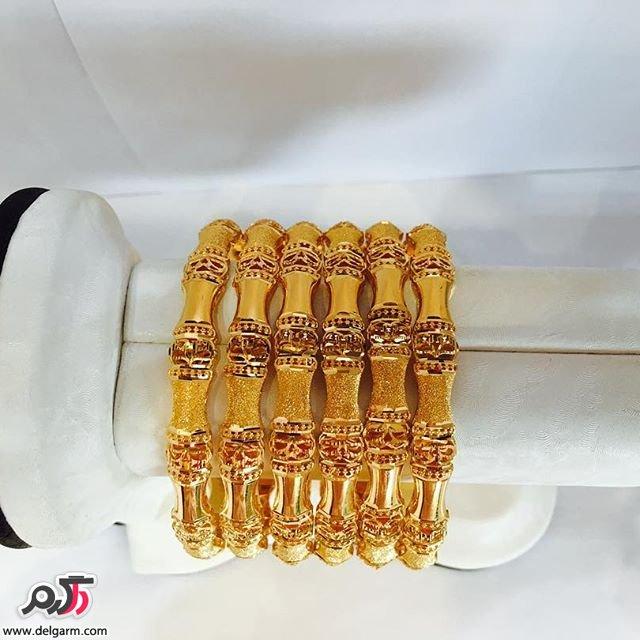 جدیدترین مدل دستبند ظریف طلا