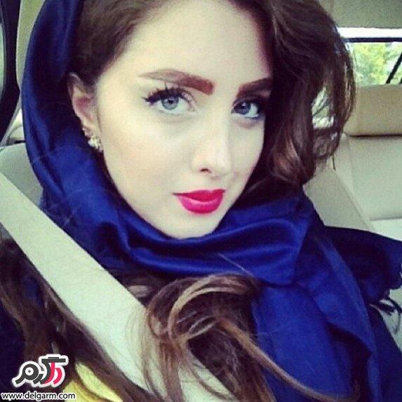 مدلینگ ایرانی یاسمین کلاهان