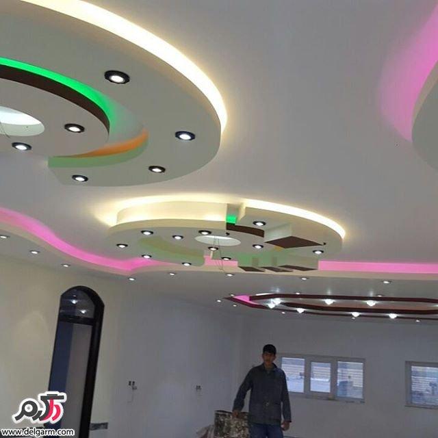 کناف سقف در طرح های جدید 2016