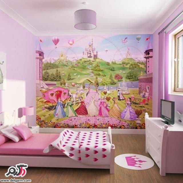 کاغذ دیواری و پوستر های جدید اتاق کودک
