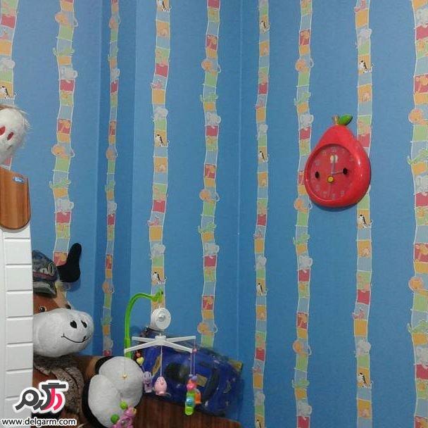 کاغذ دیواری های جذاب و شیک برای اتاق کودکان