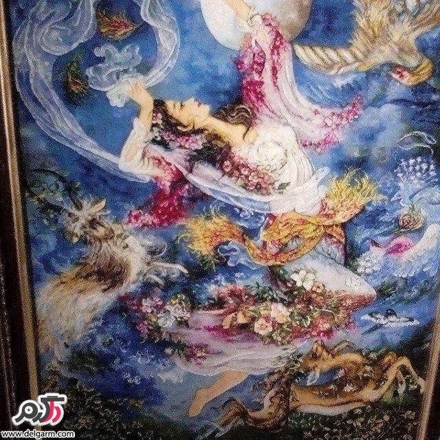 تابلو فرش ایرانی