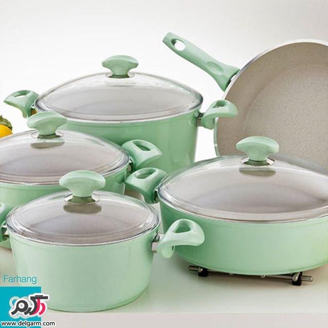 ظروف آشپزخانه / انواع قابلمه