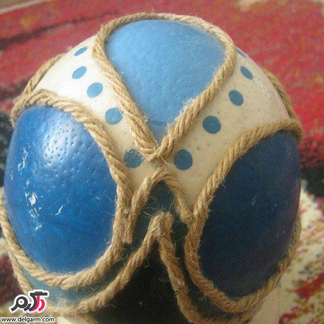 نقاشی و حکاکی های زیبا روی تخم شتر مرغ
