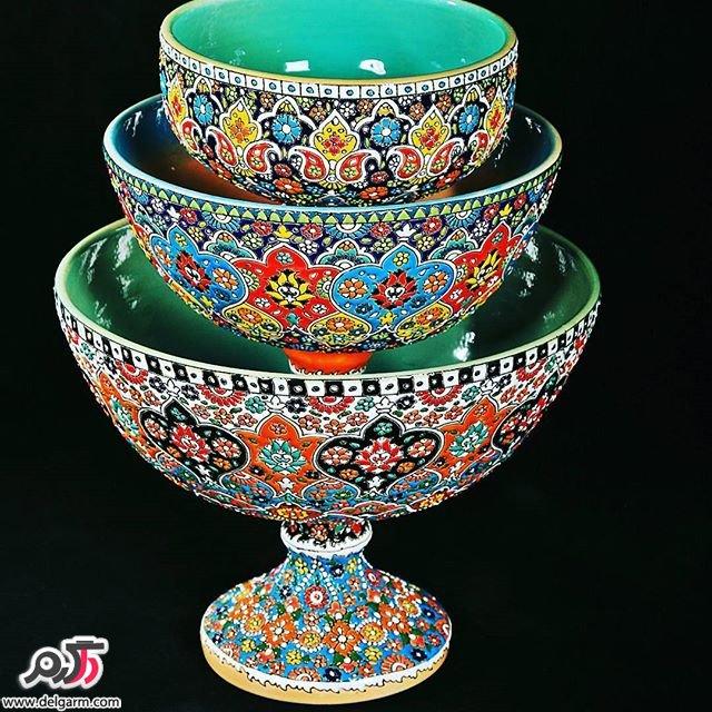 ظروف زیبای سفالی