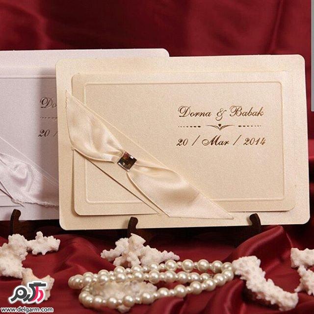 نمونه های زیبا از کارت عروسی