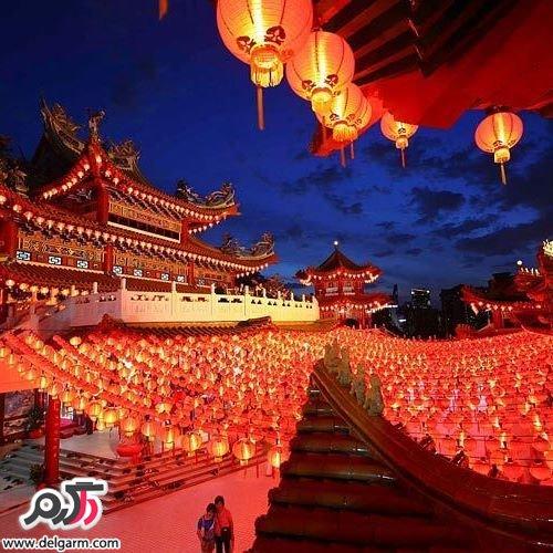 جاذبه های گردشگری زیبای کشور چین 2016