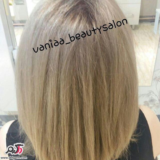 بلوند و های لایت موهای روشن