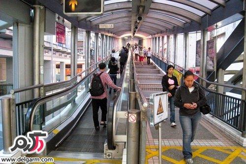طولانی ترین پله برقی در چین