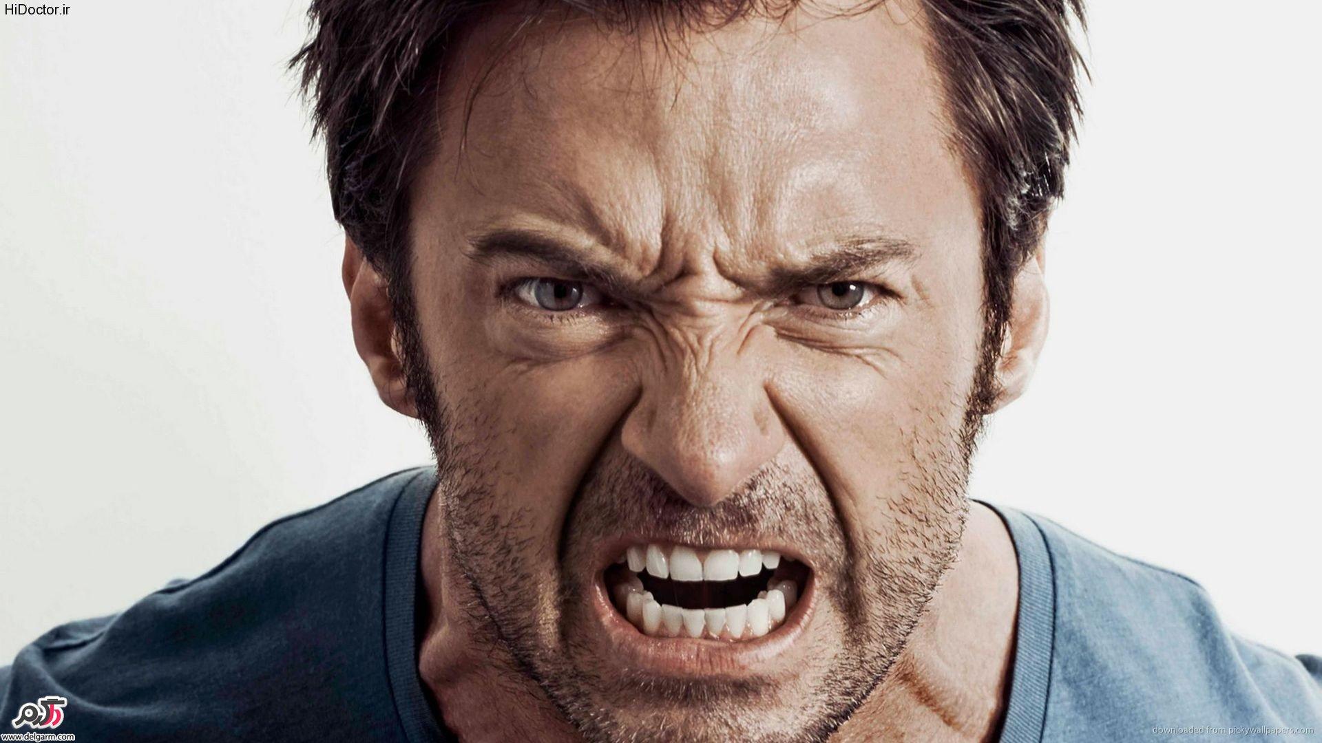 چگونه خشم خود را کنترل کنیم؟