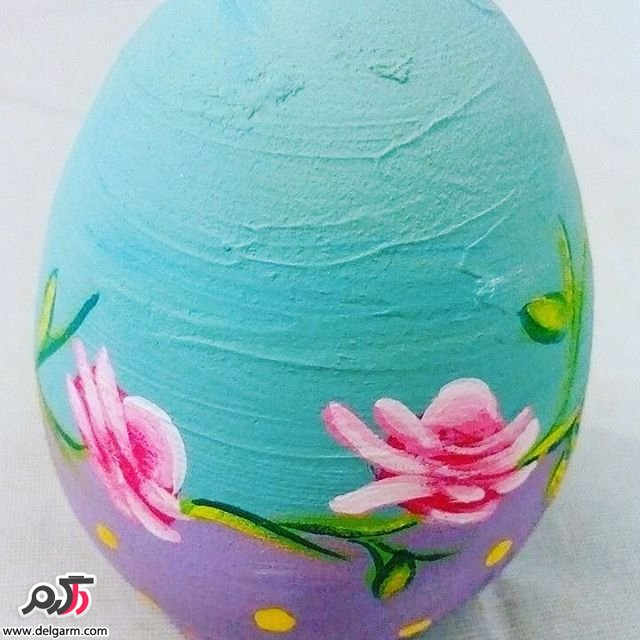 گالری از تخم مرغ رنگی مناسب سفره هفت سین 2017