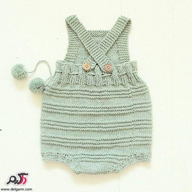 گالری از لباس بافت بچگانه جدید و زیبا