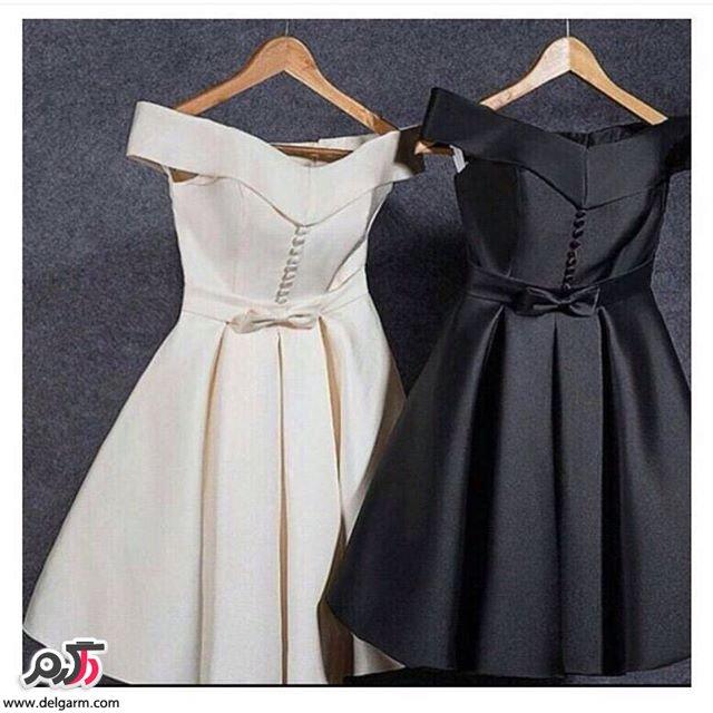 نمونه هایی بسیار زیبا از لباس کوتاه دخترانه