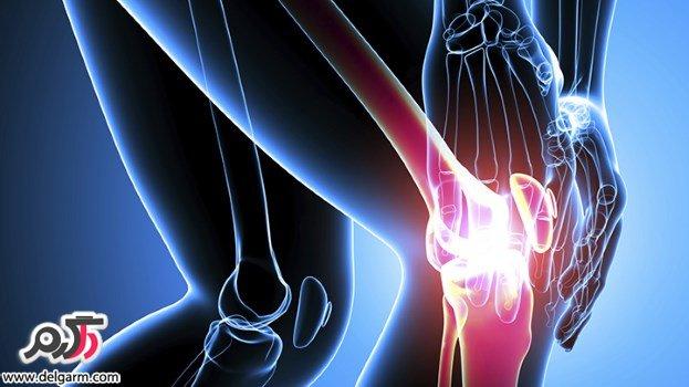 درمان کوفتگی و درد زانو