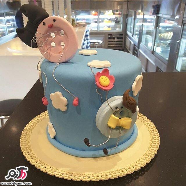 نمونه های زیبا از تزئینات کیک مناسب عقد عروسی و جشن تولد