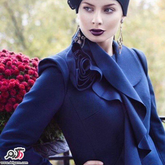 نمونه های زیبا و جدید از مدل مانتو مجلسی 2016