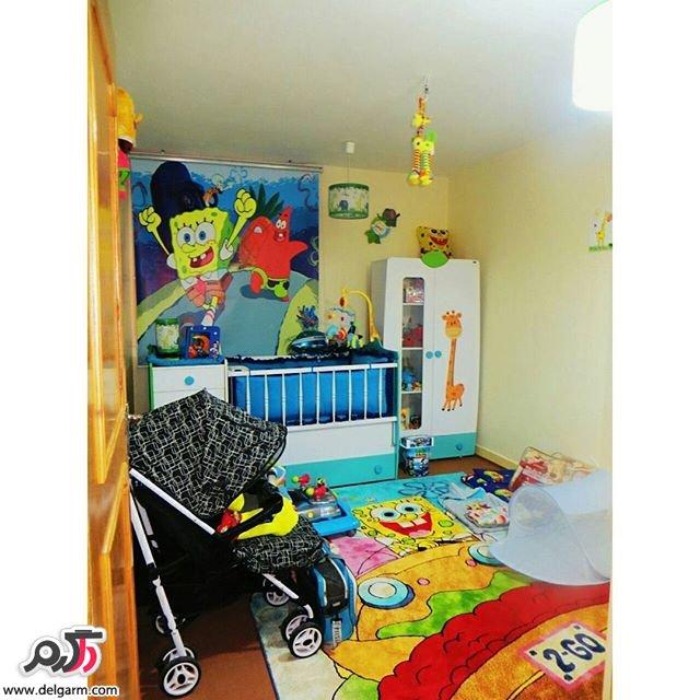 سیسمونی و چیدمان اتاق نوزاد
