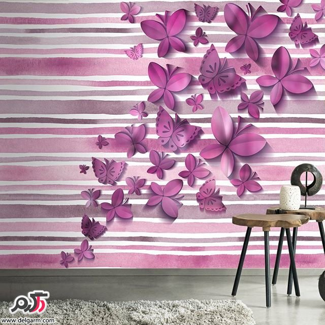 نمونه های زیبا و جدید از کاغذ دیواری 2016