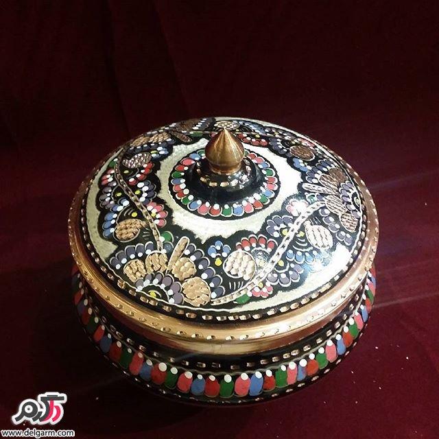 گالری از ظروف و وسایل تزیینی برنجی