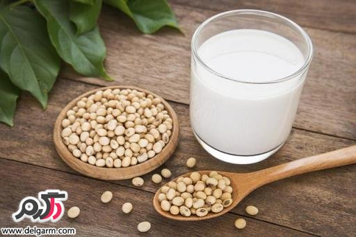 فواید شیر سویا
