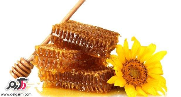 خاصیت گردو و عسل