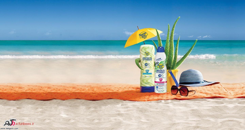 فواید استفاده از کرم ضد آفتاب برای سلامت پوست