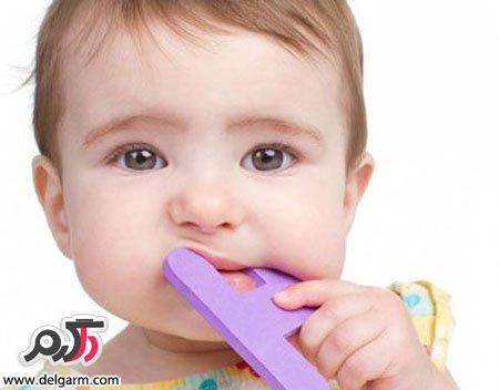 درمان خارش لثه کودک