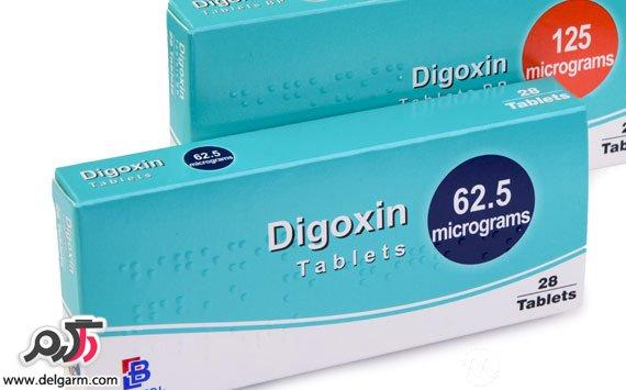 عوارض مصرف دیگوکسین