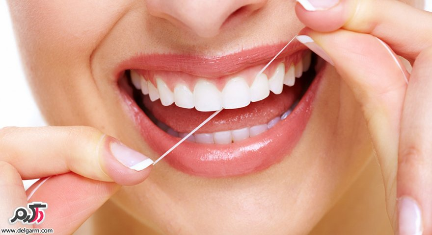 چطور از نخ دندان استفاده کنیم؟بهترین زمان استفاده از نخ دندان