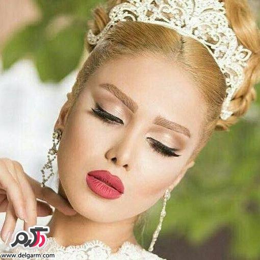 جدیدترین آرایش عروس مدل 96 و سال 2017