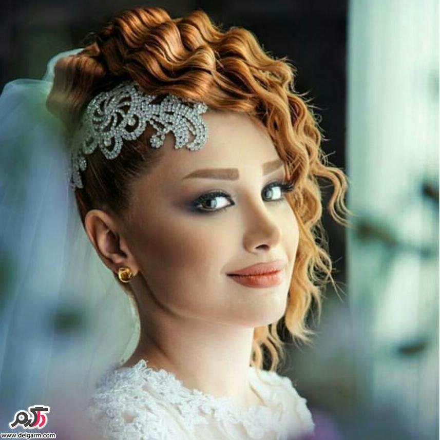 عکس مدل آرایش عروس خوشگل