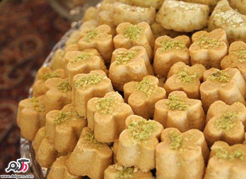 شیرینی آرد نخودچی