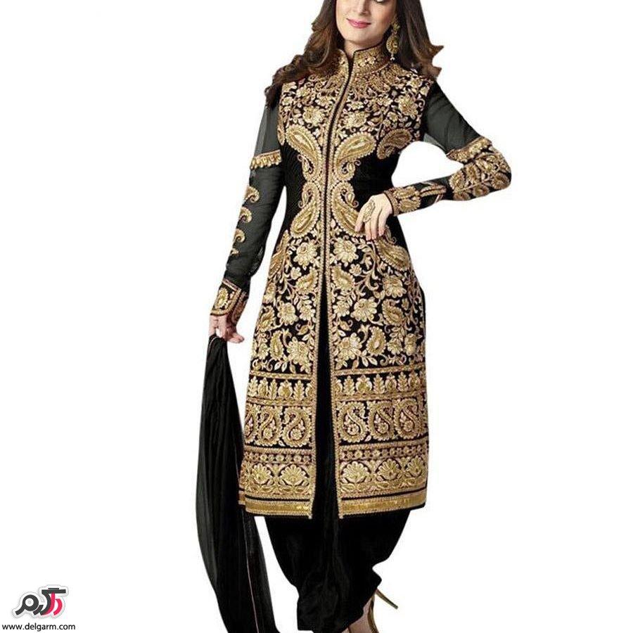 مدل نیم تنه هندی جدیدترین مدل لباس هندی مجلسی ۲۰۱۷