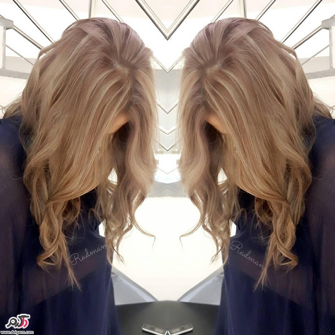 عکس رنگ مو و لایت