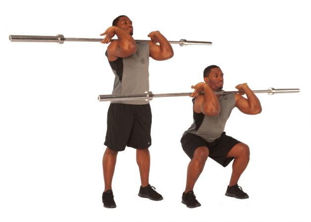 فواید عالی حرکت اسکوات برای بدن