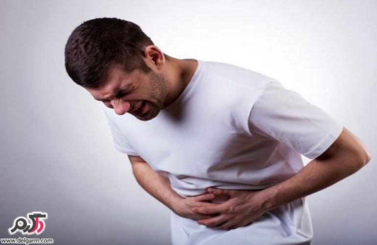 درد پایین شکم در چپ سمت و
