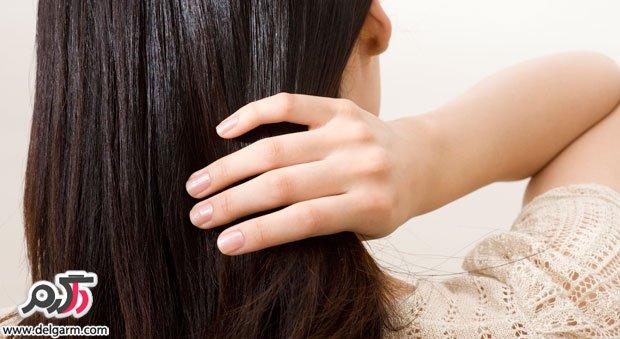 درمان موهای آسیب دیده و سوخته در خانه